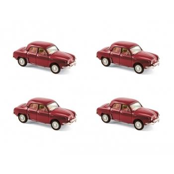 1:87 1956 Renault Dauphine - Garance Red