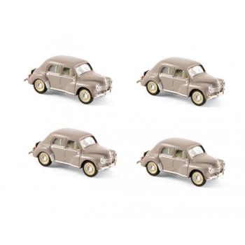 1:87 1955 Renault 4CV - Turtledove Beige