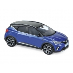1:43 2020 Renault Captur - Blue & Black
