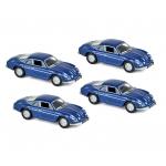 1:87 1973 Alpine A110  - Blue metallic x4