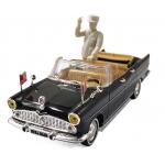 1:43 1960 Simca V8 Chambord Presidentielle with Figure