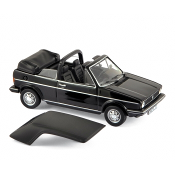1:43 1981 Volkswagen Golf Cabriolet - Black