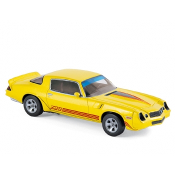 1:43 1980 Chevrolet Camaro Z28 - Yellow Metallic
