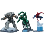 1:12 Spider-Man/Rhino/Scorpion Collectible Set