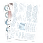 1:1000 USS Excelsior - Aztec Decal Set