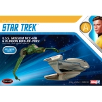1:1000 U.S.S Grissom  NCC-638 and Klingon Bird of Prey Twin Pack