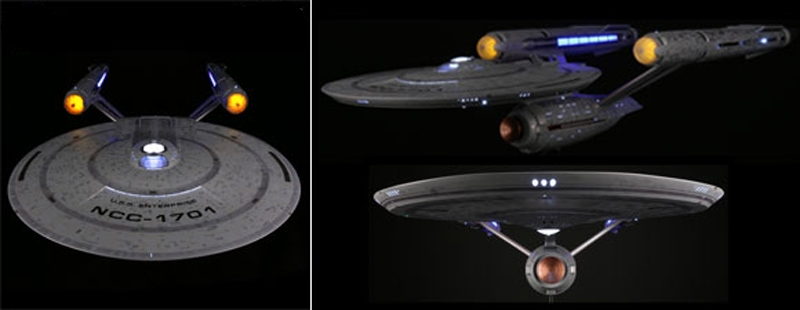 1:2500 Star Trek Discovery: USS Enterprise SNAP KIT