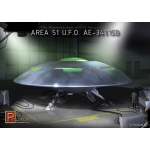 1:72 Area 51 U.F.O. A.E.-341.15B