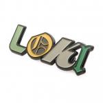 Loki Logo Pin Badge