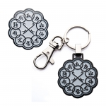 Shang-Chi Ten Rings Pin and Keychain Set