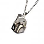 Boba Fett Helmet Pendant Necklace