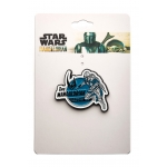 The Mandalorian Comic Enamel Pin