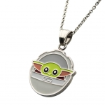 The Child Silver Plated Pendant Necklace
