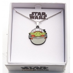 The Mandalorian The Child Sleeping Pendant