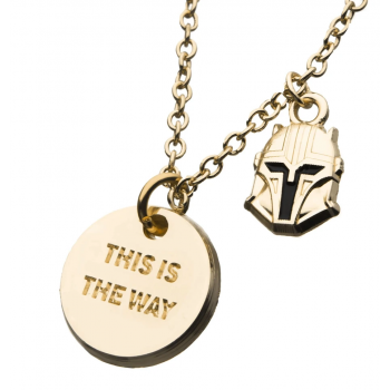 The Mandalorian This Is The Way Necklace