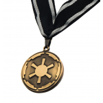 The Mandalorian Client Cog Medallion