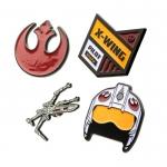 Star Wars Rebel 4 Pin Set