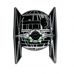Tie Fighter Light Up Pin Badge