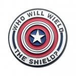 Who Will Wield The Shield Pin Badge