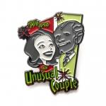 Wanda and Vision Unusual Couple Pin Badge