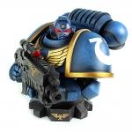 Warhammer 40K Primaris Ultramarine Bust