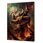 Warhammer 40K 36x50 Khorn Daemonkin Art Board