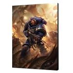 Warhammer 40K Ultramarine Primaris Art Board