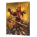 Warhammer 40K Kharn The Betrayer Art Board