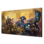 Warhammer 40K Ultramarines v Nurgle Art Board