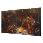 Warhammer 40K Emperor v Horus Art Board