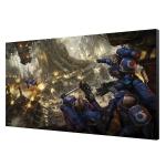 Warhammer 40K Urban Conquest Art Board