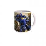 Warhammer 40K Ultramines vs Nurgle Mug