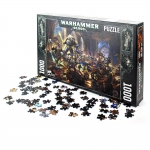 Warhammer 40K Guilliman vs Black Legion 1000pc Puzzle