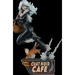 1:5 Black Cat Statue