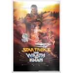 Star Trek II: The Wrath of Khan Silver Foil - Silver Collectable