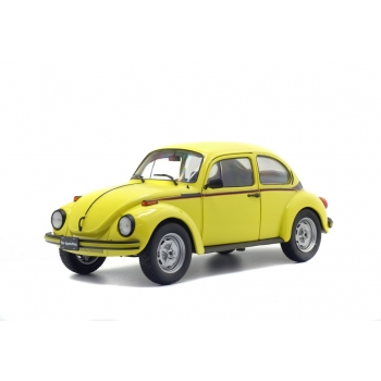 1:18 1974 VW Beetle 1303 Sport - Bright Yellow