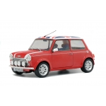 1:18 Mini Cooper Sport Pack - Red with Union Jack Roof