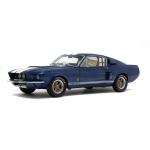 1:18 1967 Shelby Mustang GT500 - Night Mist Blue