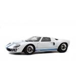 1:18 Ford GT40 MK1 Widebody - White & Blue Stripes