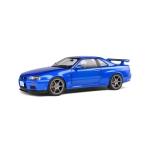 1:18 Nissan GT-R (R34) - Bayside Blue