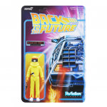 BTTF Radiation Suit Marty ReAction Figure