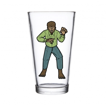 Collectors Glass - Wolf Man