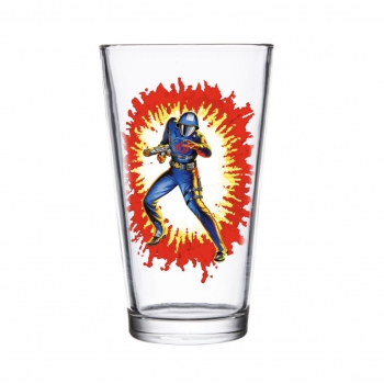 Collectors Glass - G.I. Joe Cobra Commander