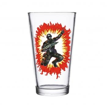 Collectors Glass - G.I. Joe Snake Eyes