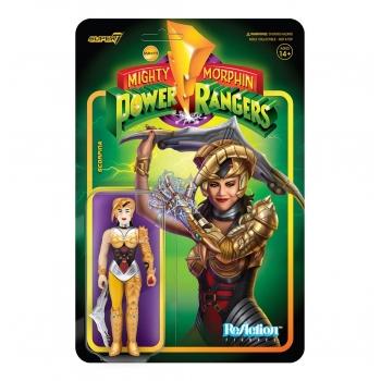 Power Rangers Scorpina ReAction Figure