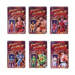 Street Fighter II ReAction Figure Set Of 6