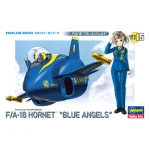 FA-18 Hornet Blue Angels Egg Plane