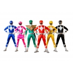 1:6 Mighty Morphin Power Rangers Set of 6