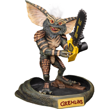 Gremlins Stripe with Chainsaw Statue